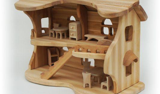Дом для куклы своими руками из дерева