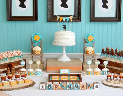 Goldilocks and the Three Bears Birthday Party Idea