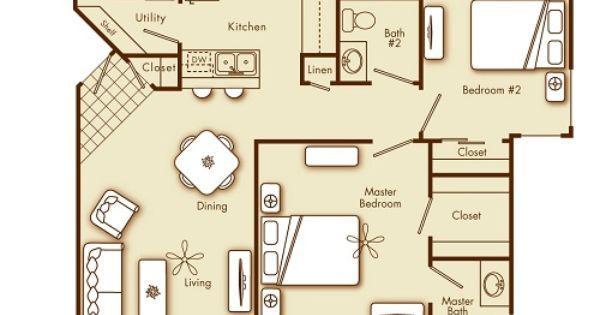 2 Bedroom 2 Bathroom Apartment Home In Phoenix Az 85021 Cross Streets 19th Avenue Glendale