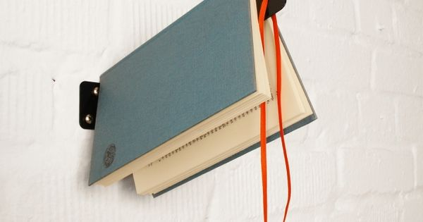The Wall Bookmark Shelf | 25 Awesome DIY Ideas For Bookshelves. Book