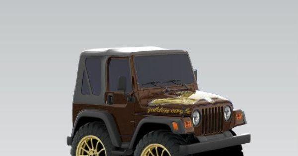 jeep wrangler 2003 golden eagle by arnold made to look like a car pinterest golden eagle. Black Bedroom Furniture Sets. Home Design Ideas