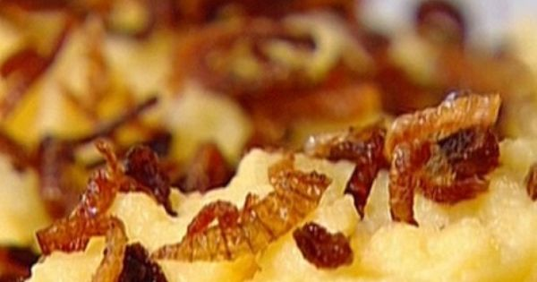 ... with crispy shallots | Recipe | Crispy Shallots, Ina Garten and Garten