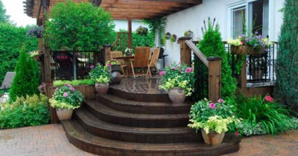 Am Nagement Paysager Terrasse Ext Rieure Am Nagement Paysager Pinterest Terrasse