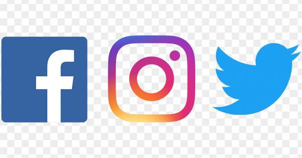Facebook Twitter Instagram Png Fb Twitter Instagram Logo Png Image With Transparent Background Png Free Png Images Facebook And Instagram Logo Twitter Logo Instagram Logo