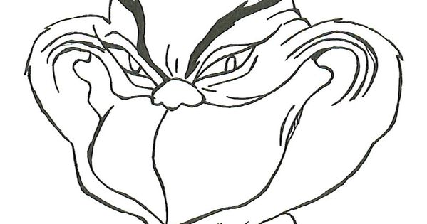 Grinch Coloring Pages To Print
