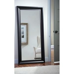 Neu Type Oversized Black Metal Beveled Glass Modern Classic Mirror 64 17 In H X 21 26 In W Jj00371aaf The Home Depot Leaner Mirror Glass Classic Home
