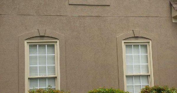 After Photo House Paint Sw 6151 Quiver Tan Trim Paint