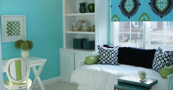teenager zimmer m dchen ideen wei gr n hellblau zimmer ideen pinterest t rkis teenager. Black Bedroom Furniture Sets. Home Design Ideas
