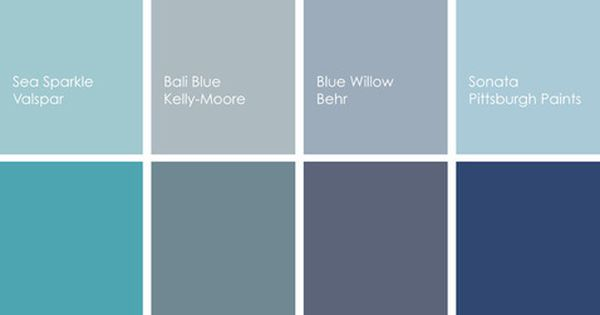 Shades Of Blue Paint Colors 2 Pinterest Valspar Design Bedroom And Kids Rooms
