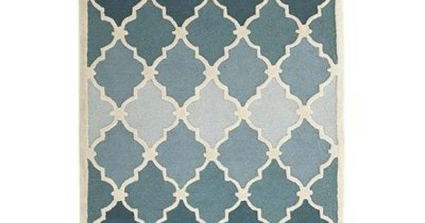 Ombre Tile Rugs Blue Love This Supposed To Be An