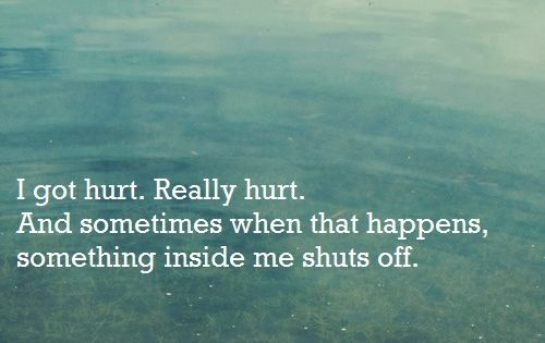 This really hits home on several days! Sometimes I do shut down...and