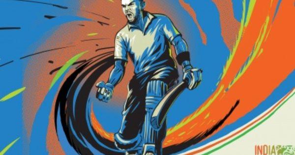 Virat Kohli Indian Cricketer Painting Wallpaper Best Hd Wallpapers Painting Wallpaper Cricket Wallpapers Cricket