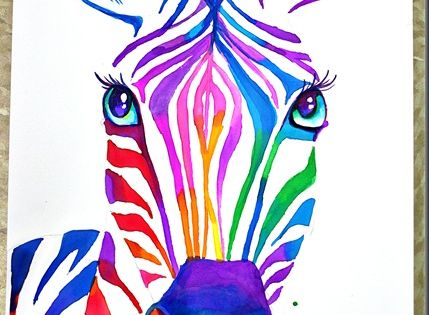 color wheel animals