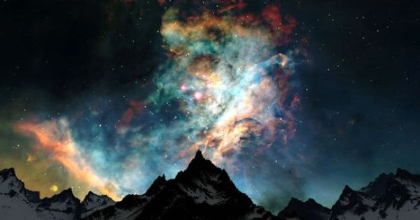 Alaska night sky aka Aurora Borealis