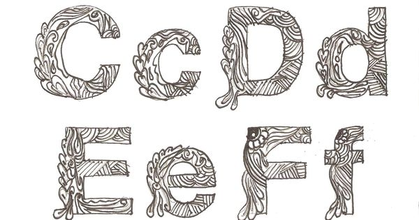 Sketsa Typography Batik Motif Pinterest