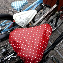 Diy Great Looking Bike Seat Covers Without Using A Sewing Machine