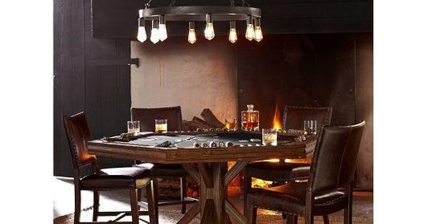Poker Table Home And Garden Design Ideas Game Room