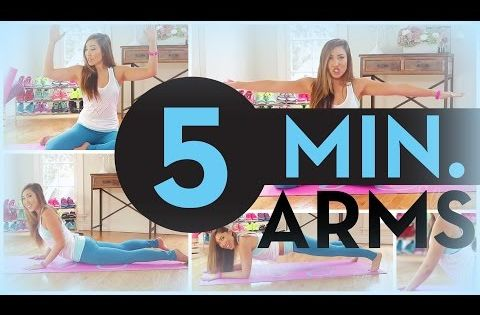 12 Quick And Easy Workouts You Can Do At Home Toned Arms Arm Workout Summer Workout Routine