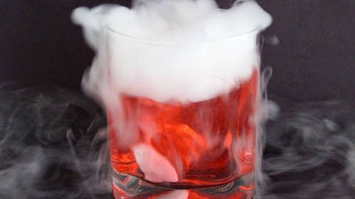 How To Use Dry Ice In Halloween Cocktails In 2020 Halloween Cocktails Halloween Party Drinks Dry Ice Cocktails