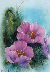 Annette Kowalski Flower Painting Google Kereses Blumen Malen