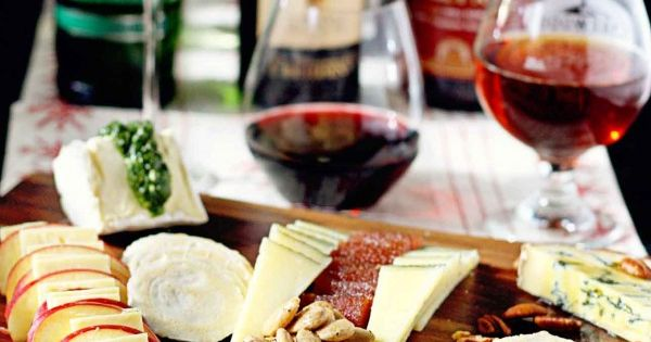 How to make The Perfect Cheese Tray - complete with wine and