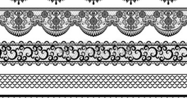 lace borders by prikhnenko royalty free vectors 61409085 on card pinterest. Black Bedroom Furniture Sets. Home Design Ideas