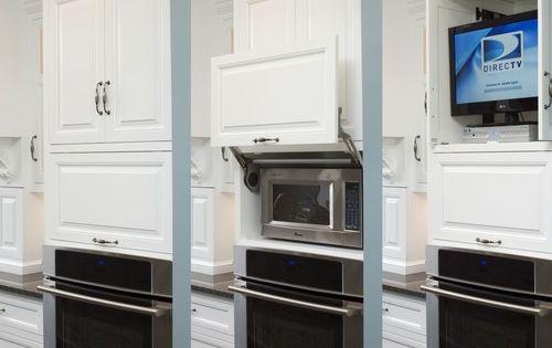 Mueble organizador de horno microondas televisor - Horno microondas pequeno ...