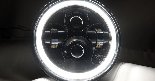Enhance Your Jeep Wrangler Jk With This Plug N Play Dot Compliant Headlight Kit By Aurora Plug N Play Means These Lights Jeep Wrangler Jeep Wrangler Jk Jeep