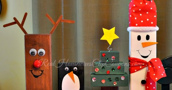 24 Christmas Crafts Holiday Characters