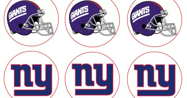 Ny Giants Edible Image Cupcake Toppers Cupcake Toppers