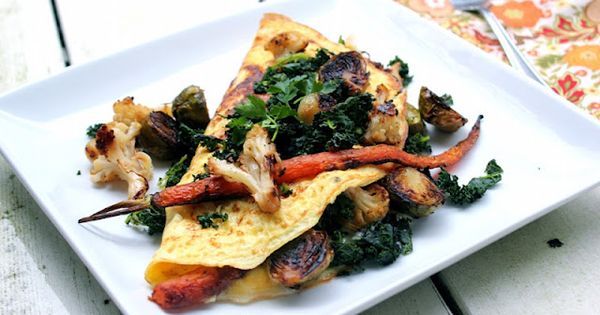 Veggies and Omelet on Pinterest