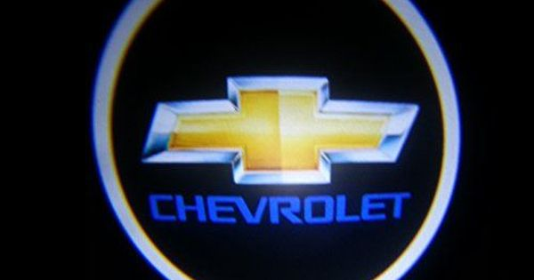 Chevy Chevrolet Ghost Door Logo Projector Shadow Puddle Laser Led