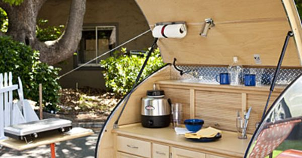 Teardrop Trailers: Hitch a Tiny Kitchen to Your Car Dream Cars| http://mydreamcarscollections9295.blogspot.com