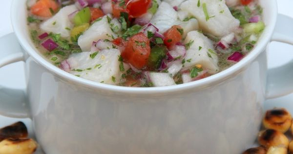 Ceviche, Cilantro and Onions on Pinterest