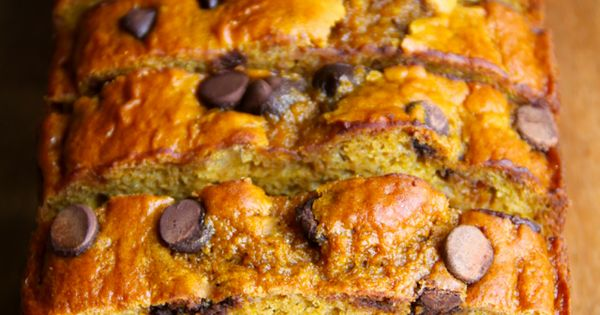 Pumpkin banana bread, Banana bread and Greek yogurt on Pinterest