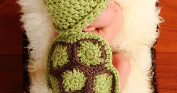 Crochet or knitted baby turtle shell . Can someone please make one