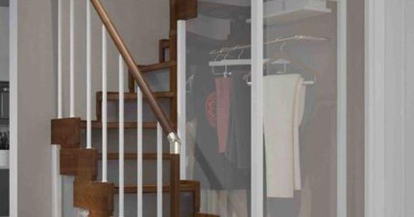 rampe d 39 escalier et escalier bois alu quart tournant interieur. Black Bedroom Furniture Sets. Home Design Ideas