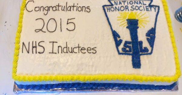 Cake Decorating Honor Pathfinders : Erin s Cakes: National Honor Society Cake Cake ...