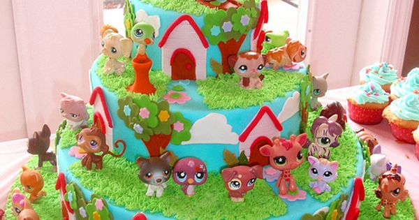 Little Pets Birthday Cake Art cakes, Pet shop and ...