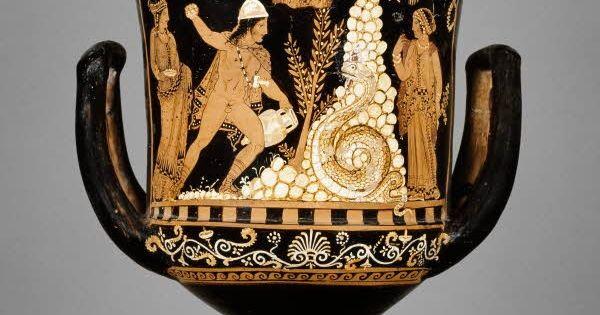 Amerika'daki Çalıntı Antik Vazo İtalya'ya İade Edildi