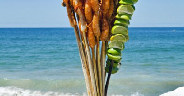 Shrimp are a typical product of the Mexican Pacific, in Puerto Vallarta