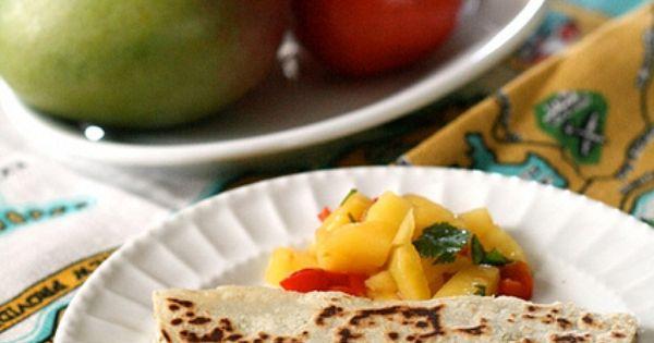 Cumin Spiced Chicken Quesadilla | Meats & Fish | Pinterest ...