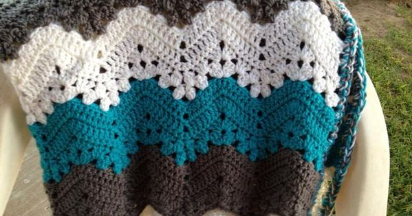 6 Day Kid Blanket Free Pattern By Betty Mcknit Pic From