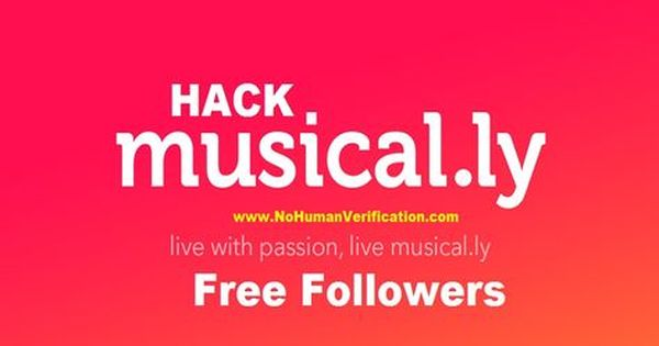 Free Musically Followers No Survey No Human Verification Here At Nohumanverification You Ll Be Learning About The How To Ge Free Followers How To Get Free