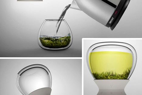 cool design for making tea