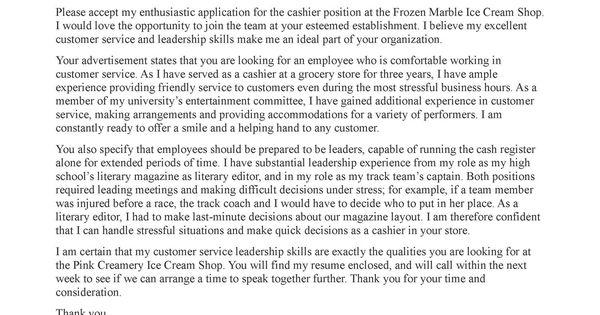 COVER LETTER FOR PART TIME JOB Bulk Template PixCover Letter Samples For Jobs Application Letter
