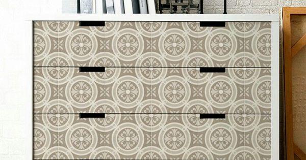 Vinilo con dise o de azulejos cl sicos tipo suelos for Azulejos clasicos