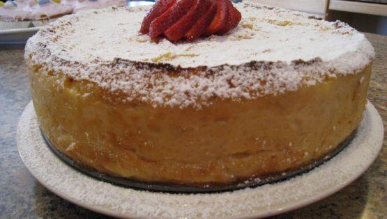 Ricotta cake, Strawberry sauce and Ricotta on Pinterest