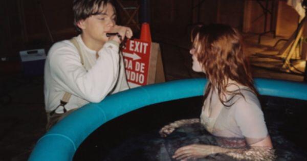 Titanic- filmed in a plastic pool