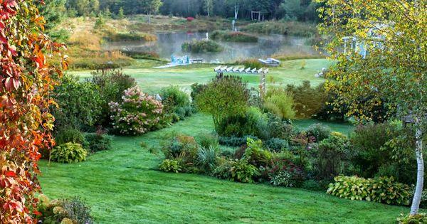 French cottage gardens - Aiken House Amp Gardens Autumn Beauty Pinterest Gardens